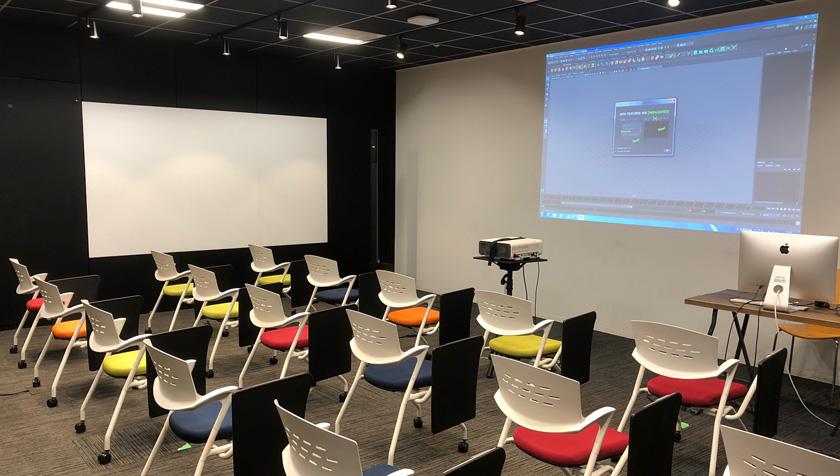 デジタルハリウッド東京本校実習教室